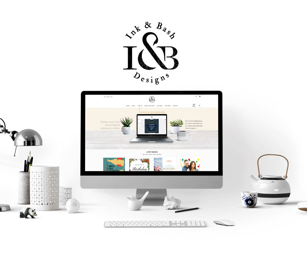 Ink and Bash E-commerce Website