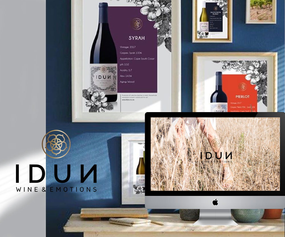 Idun Wine Website