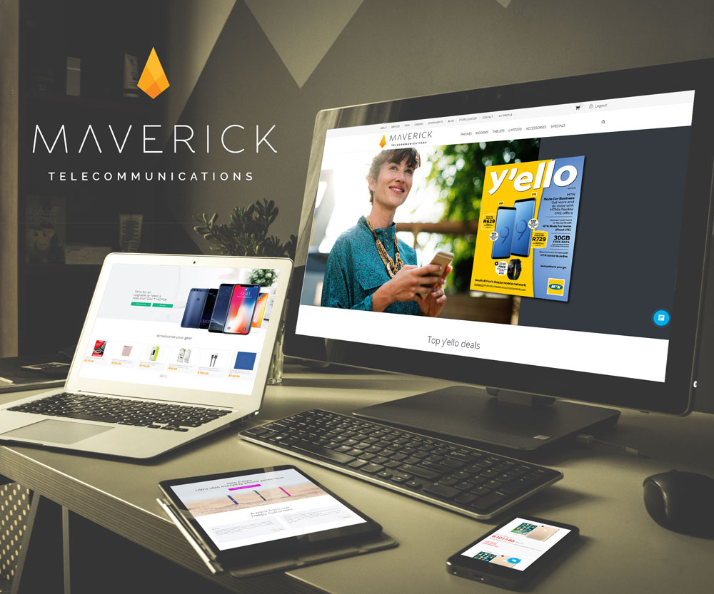Maverick Telecom E-commerce